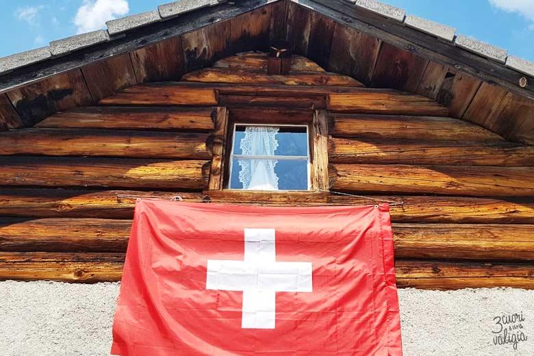 Svizzera - alpe dell'Ochsenberg baita nonno di Heidi