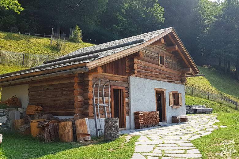 Svizzera - Maienfeld Heididorf casa del nonno di Heidi