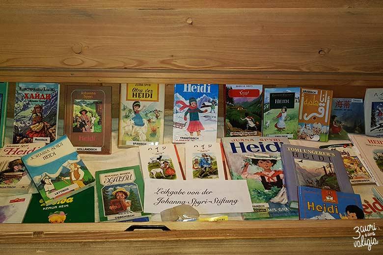 Svizzera - Maienfeld Heididorf libri di Heidi