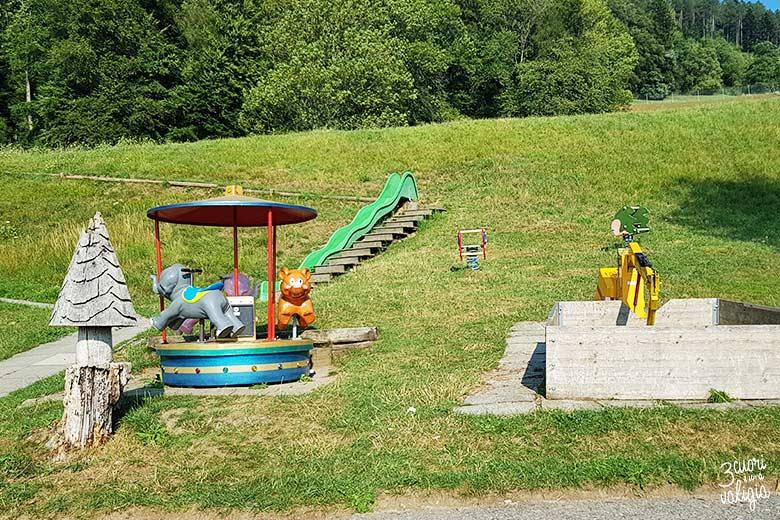 Svizzera - Maienfeld Heididorf mini parco giochi