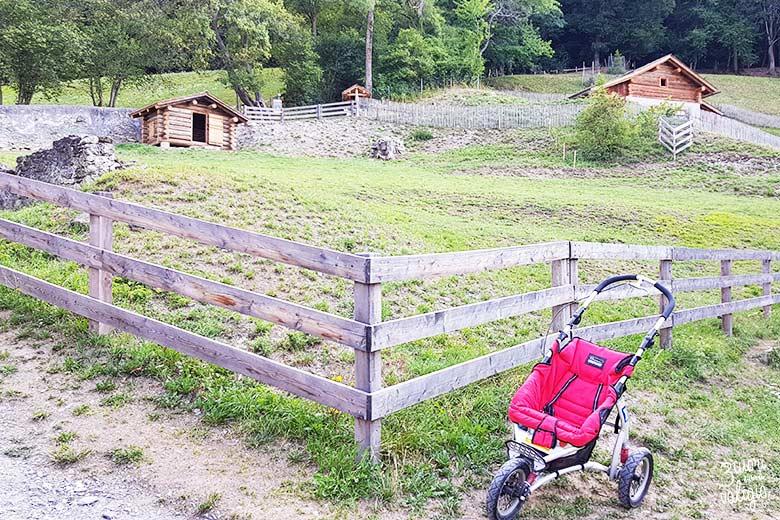 Svizzera - Maienfeld Heididorf passeggino