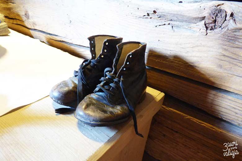 Svizzera - Maienfeld Heididorf scarpe di Heidi