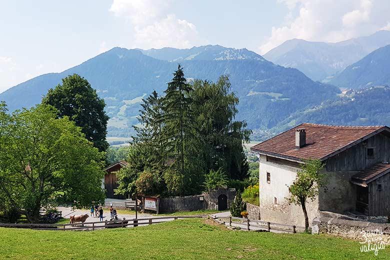 Svizzera - Maienfeld Heididorf villaggio Heidi