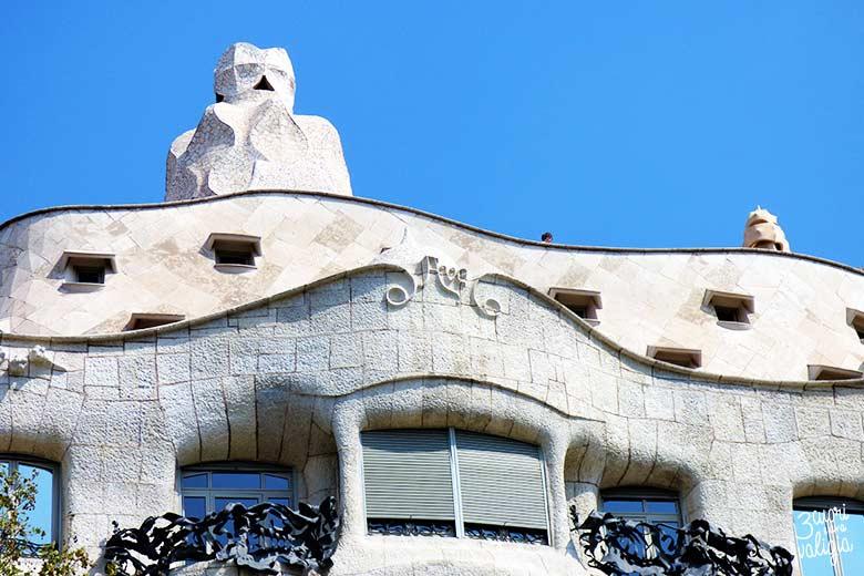 Barcellona con bambini: Casa Milà - Gaudì
