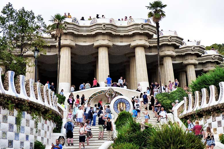 Barcellona con bambini: Parc Güell - Gaudì