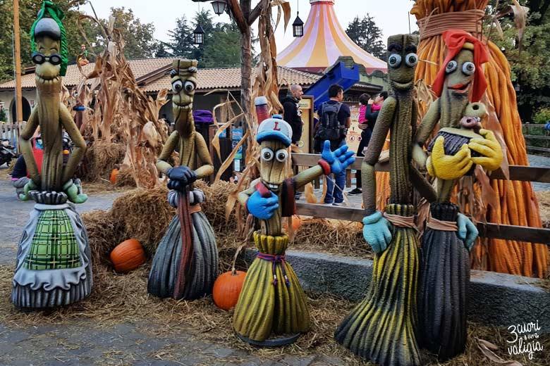 Leolandia con bambini - festa di Halloween