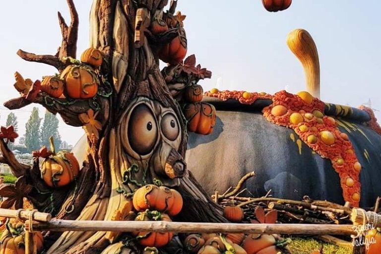 Halloween a Leolandia con bambini