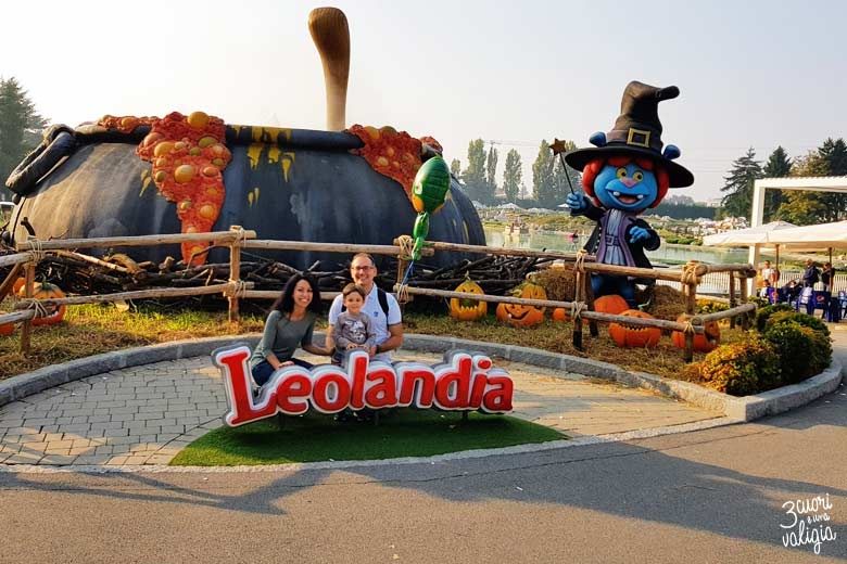 Leolandia con bambini - ingresso parco