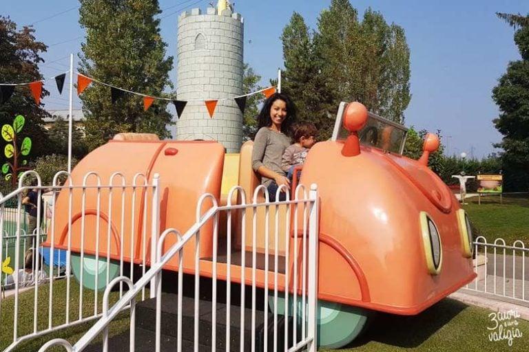 Leolandia con bambini - macchina di Peppa Pig