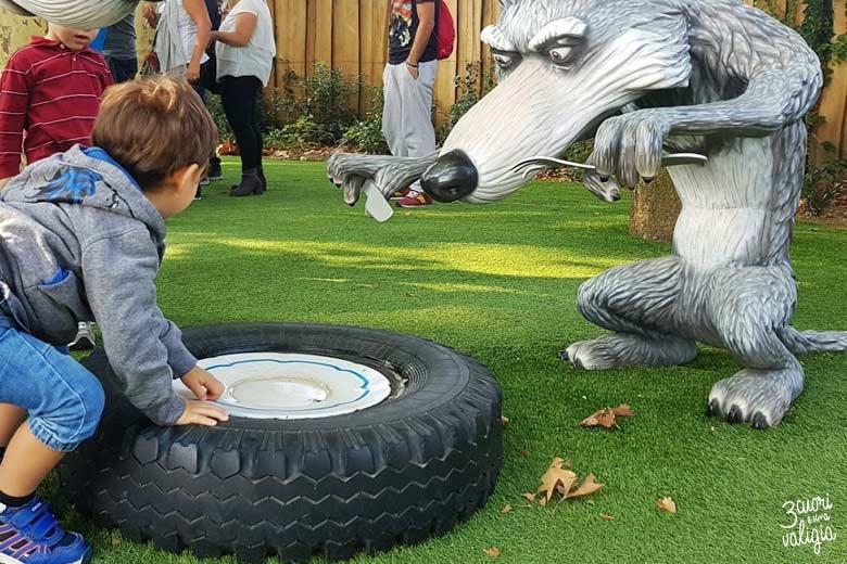 Leolandia con bambini - Masha e Orso