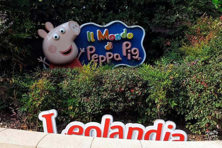 Leolandia con bambini - Peppa Pig