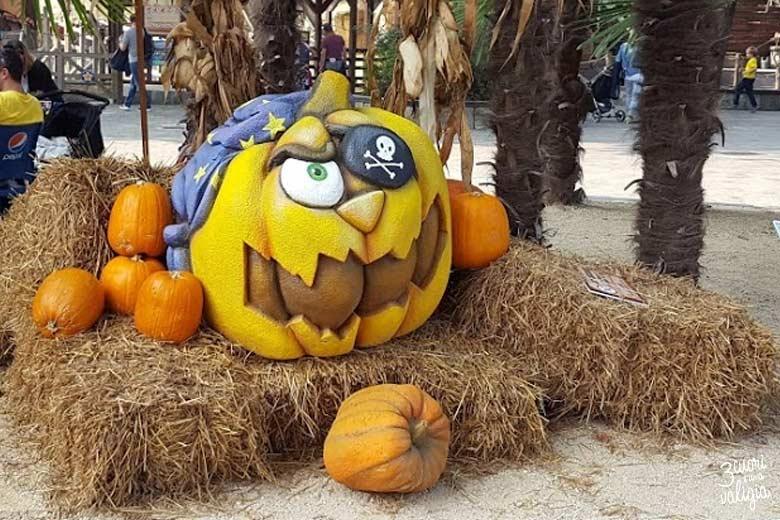 Leolandia con bambini - Halloween