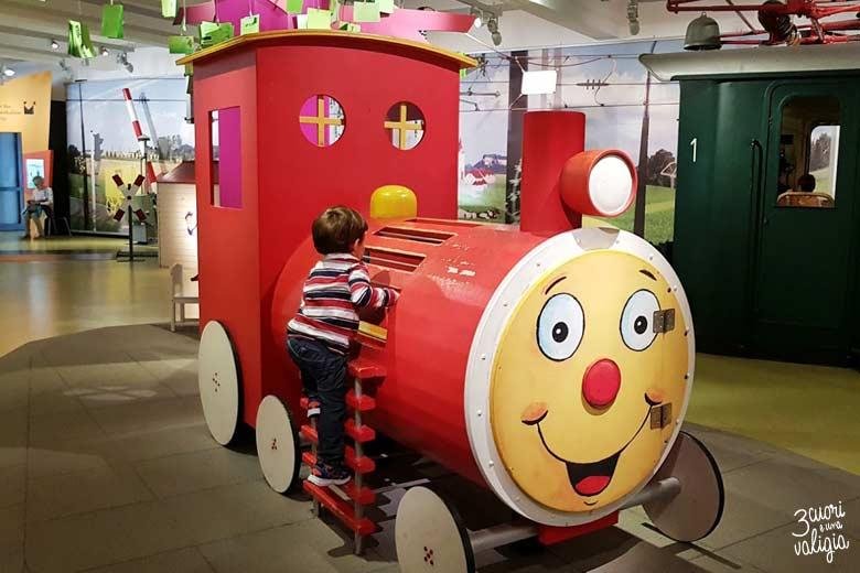Norimberga con i bambini - Museo-della-Ferrovia-DB-DB-Museum