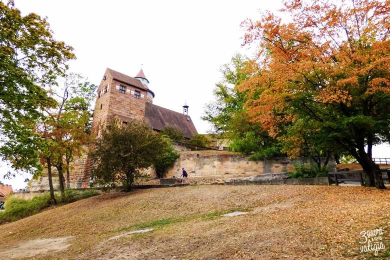 Norimberga con bambini castello imperiale - Kaiserburg