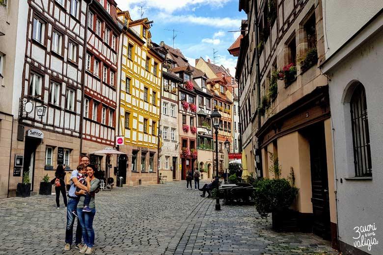 Norimberga con i bambini - Weissgerbergasse