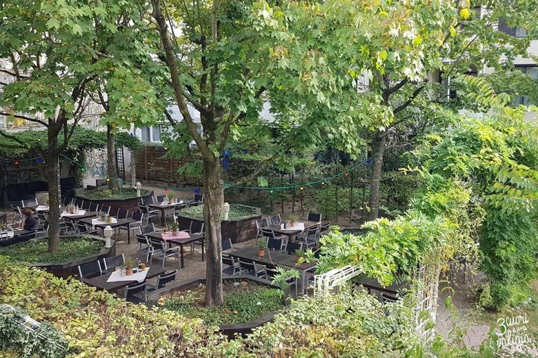 Norimberga con bambini - biergarten