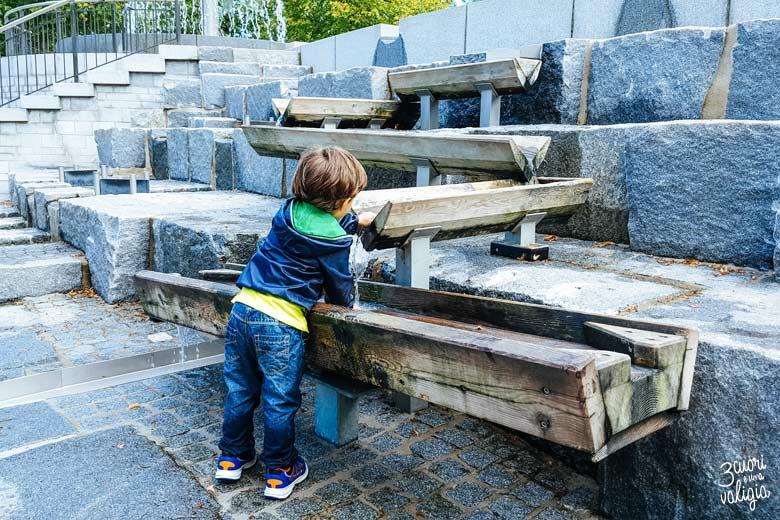 Playmobil con bambini - fontane