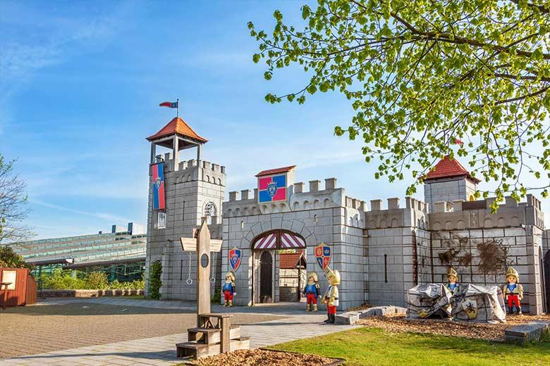 Playmobil con bambini - castello