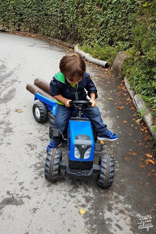 Playmobil con bambini - trattore a pedali