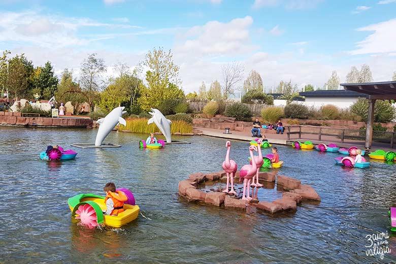 Playmobil con bambini - parco divertimenti lago