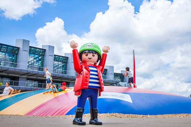 Playmobil con bambini - mascotte