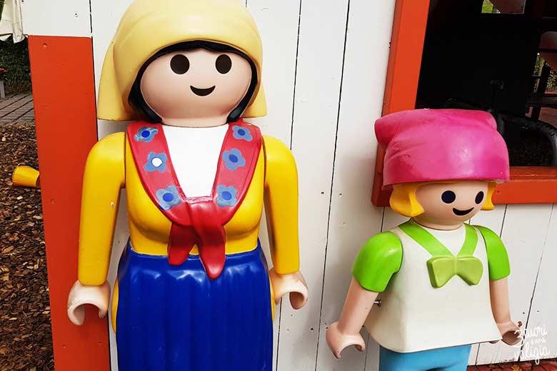 Playmobil con bambini - personaggi fattoria