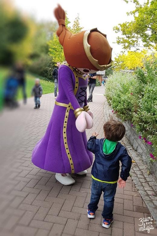 Playmobil con bambini - parco divertimenti