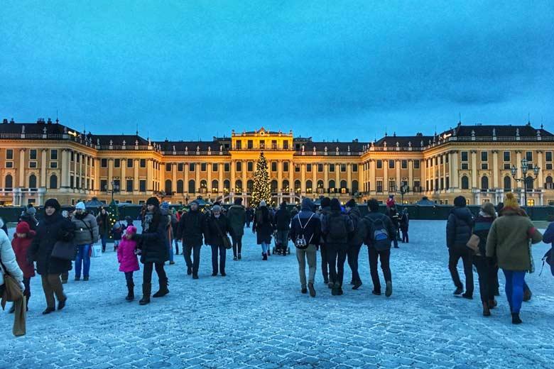 Capodanno con bambini Vienna Schonbrunn
