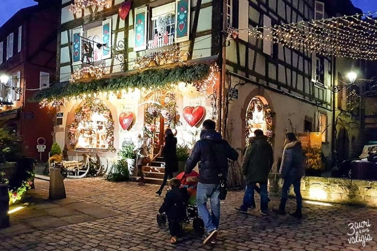 Natale in Alsazia con bambini a Kaysersberg, il villaggio più amato dai francesi