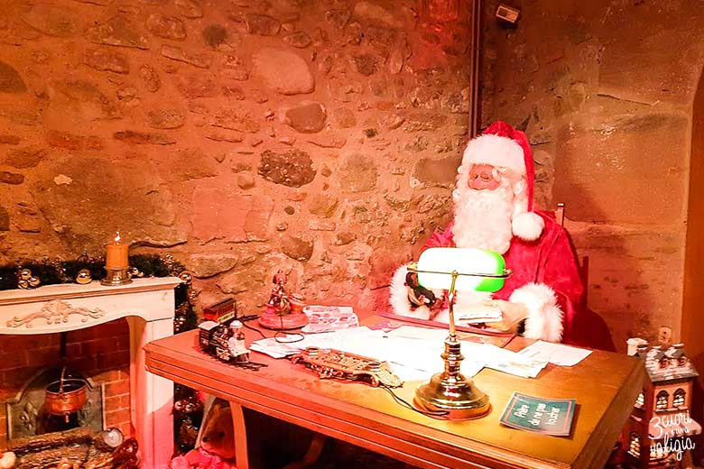 Kaysersberg con bambini - Babbo Natale