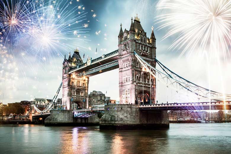 Dove andare a capodanno con bambini: Londra, fuochi d'artificio