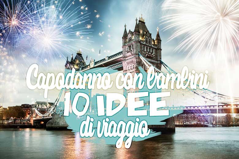 Capodanno con bambini a Londra, fuochi d'artificio