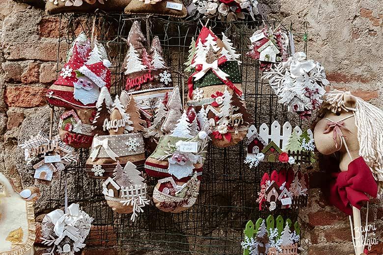 Mercatini di Natale, ricetto di Candelo - oggetti di Natale