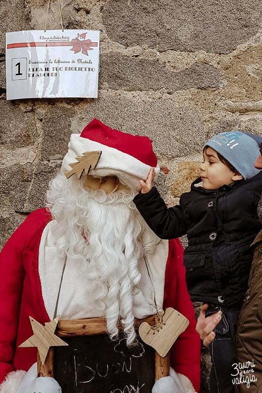 Mercatini di Natale, ricetto di Candelo - ingresso prima tappa