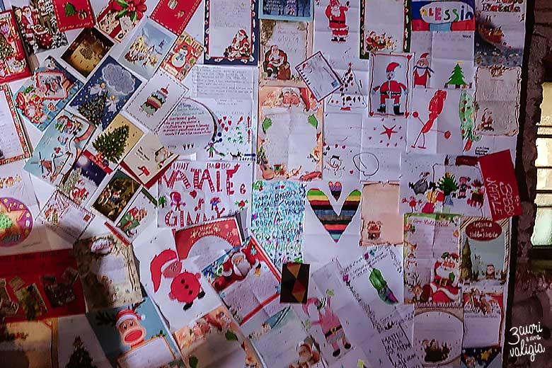 Mercatini di Natale, ricetto di Candelo - lettere di auguri