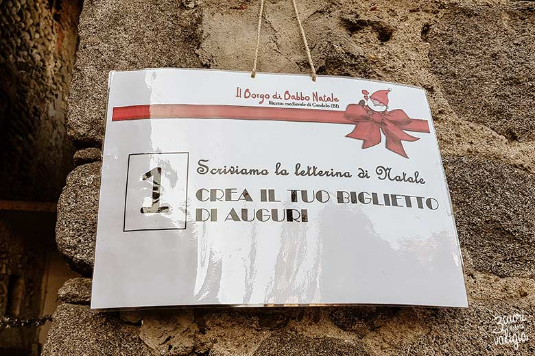 Mercatini di Natale, ricetto di Candelo - prima tappa