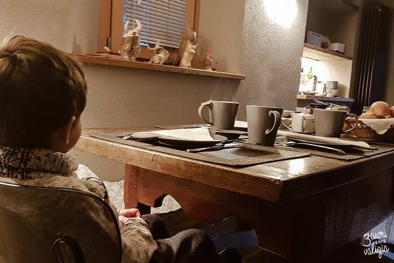 Aosta con bambini: Mu B&B and Sauna, colazione