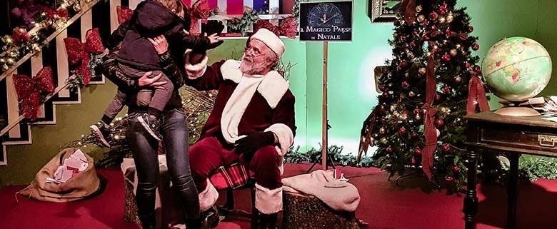 Magico paese di Natale a Govone - incontro con Babbo Natale