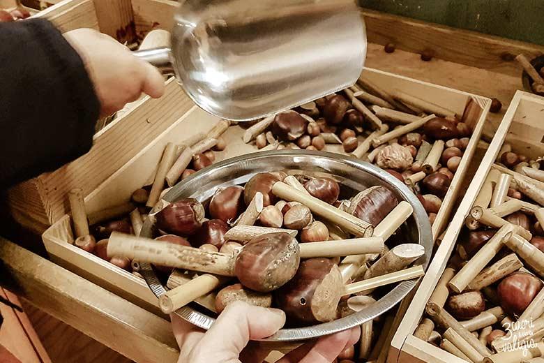 La bottega dei giocattoli di legno a Govone
