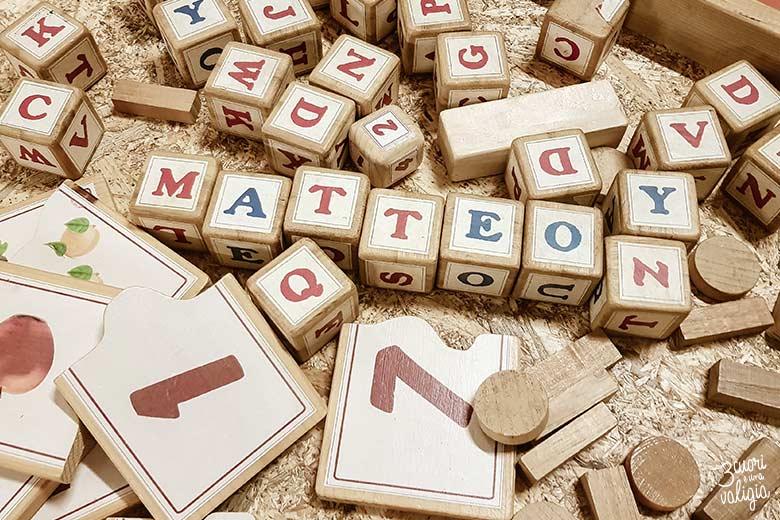 Magico paese di Natale a Govone - giochi in legno