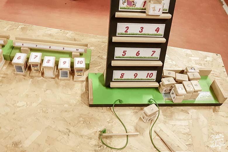 Percorso di giochi in legno per bambini a Govone