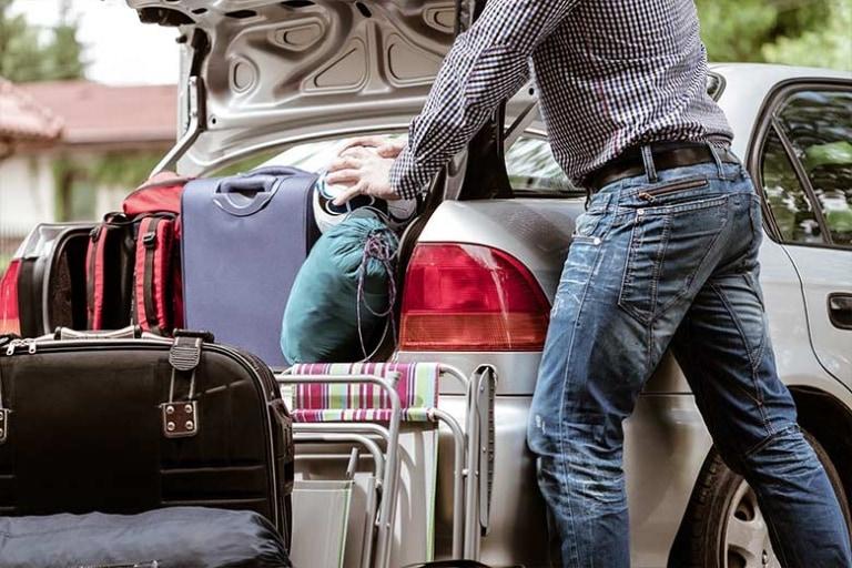 Viaggiare in auto con bambini: partenze in piena libertà