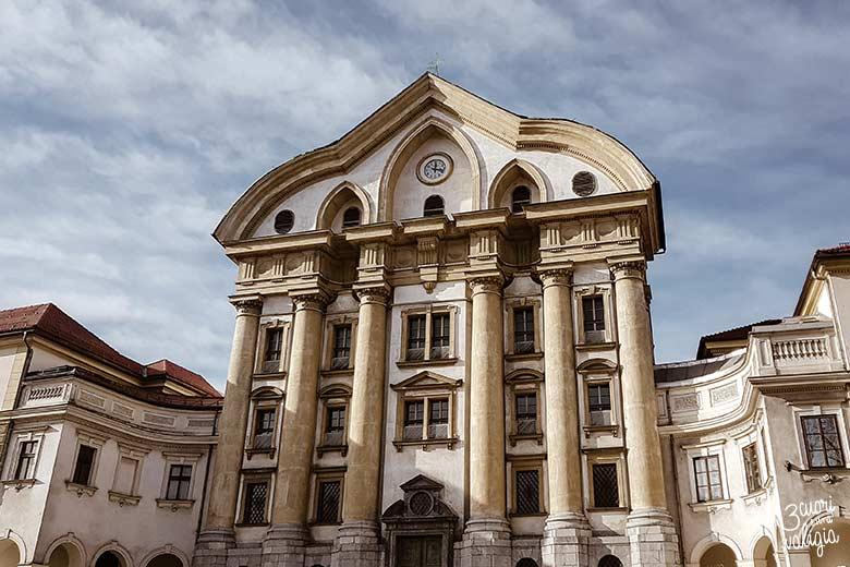 Lubiana con bambini - Chiesa Barocca