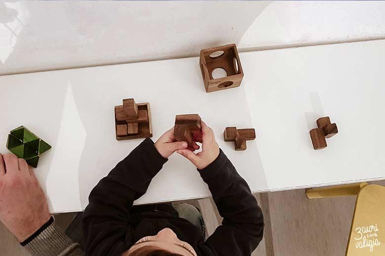 Lubiana con bambini - museo delle illusioni