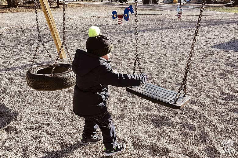 Lubiana con bambini - parco giochi