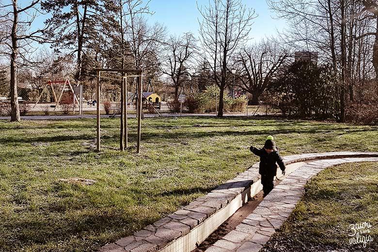 Lubiana con bambini - parco Tivoli