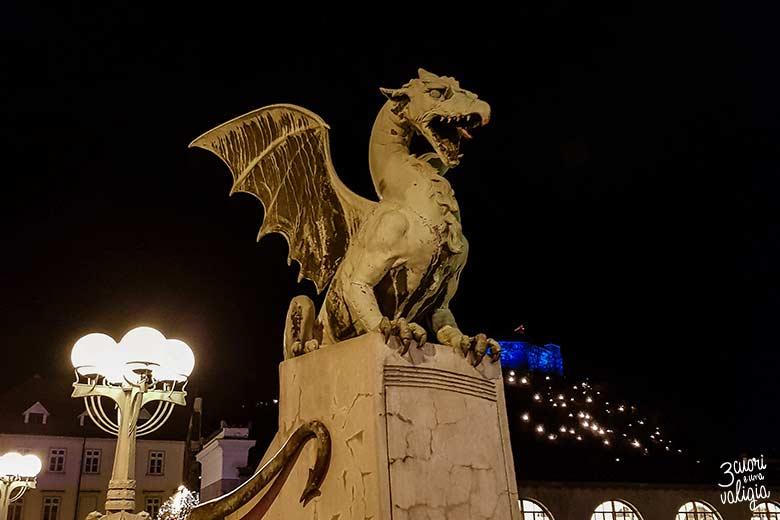 Lubiana con bambini - ponte dei draghi