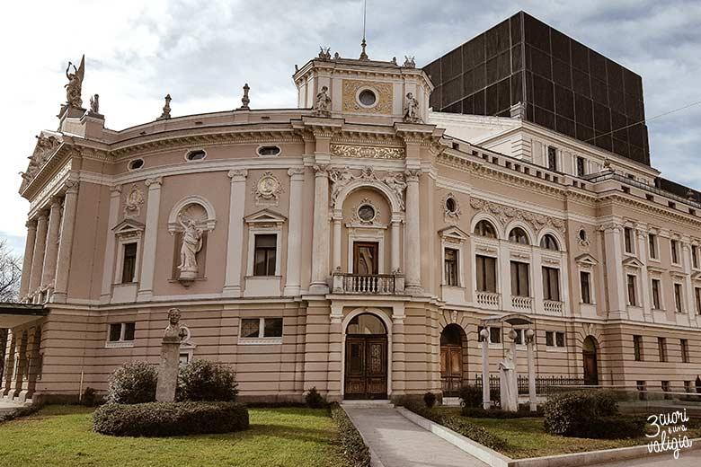 Lubiana con bambini - SNG Opera