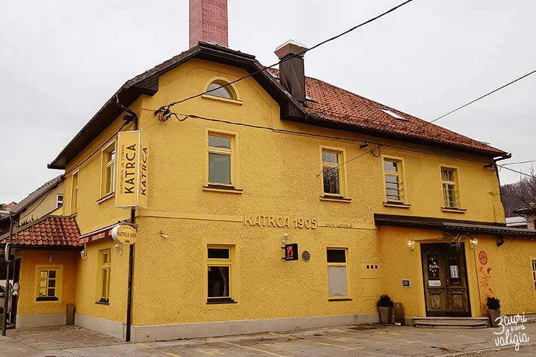 Lubiana Hotel Katrca 1905