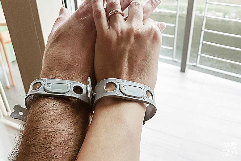 Terme di Lasko con bambini, braccialetti